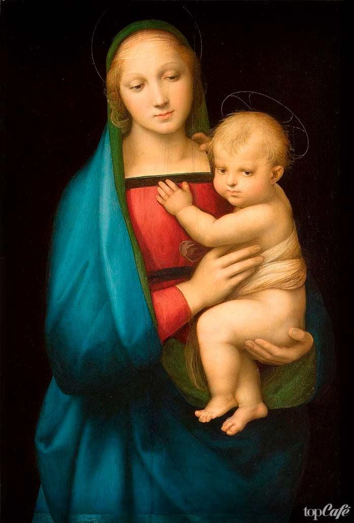 «Мадонна Грандука» (1505). Рафаэль Санти