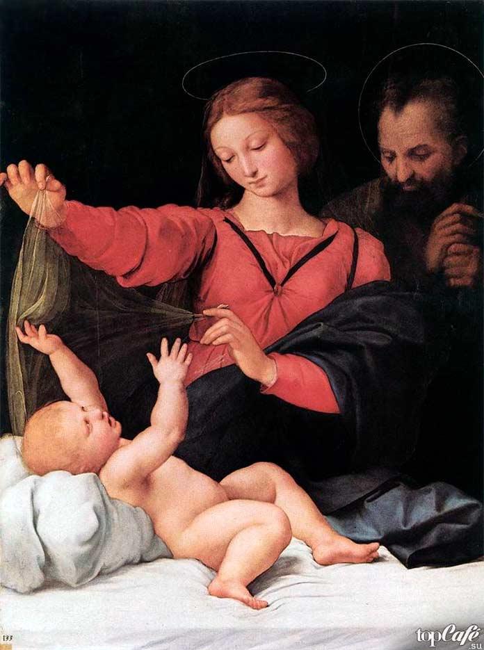 Мадонна свуалью (1508). Рафаэль Санти