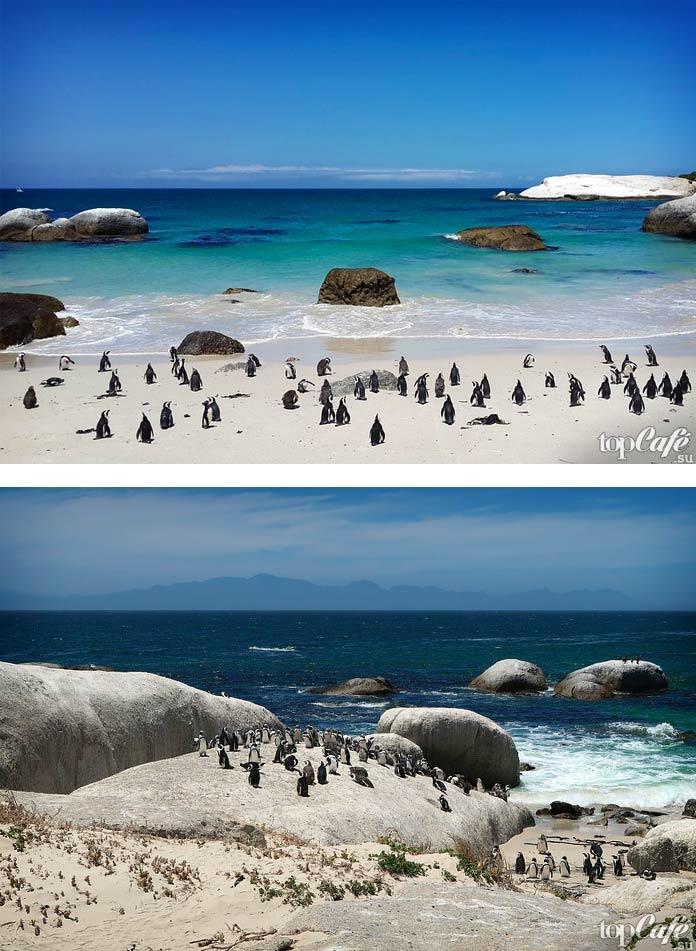 Интересный Пляж Боулдерс
