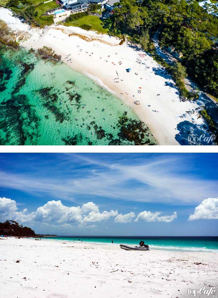 Красивый и необычный Пляж Хаямс