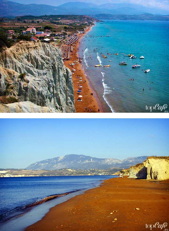 Необычный пляж Кси