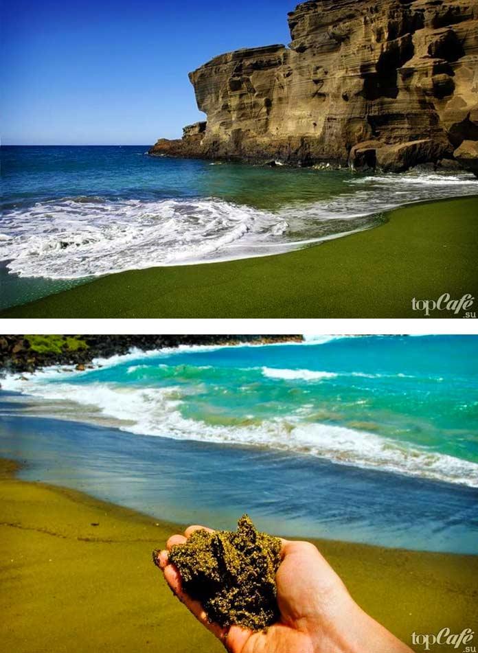 Странный пляж Папаколи