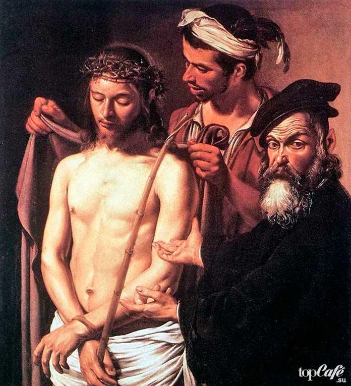 Се человек (1605). Лучшие картины Караваджо