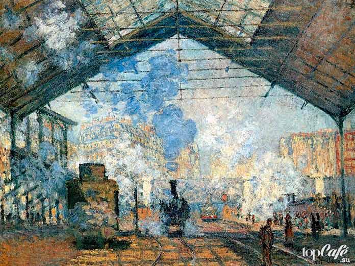 Серия «Вокзал Сен-Лазар» (1872–1877)