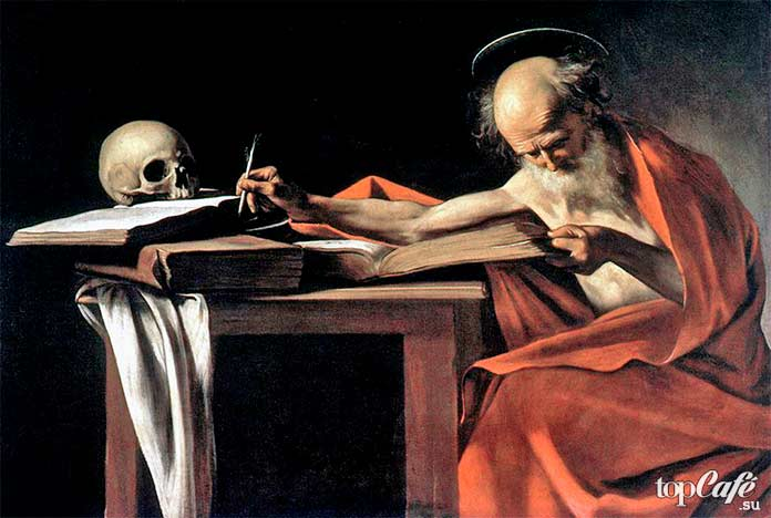Святой Иероним за книгой, 1606