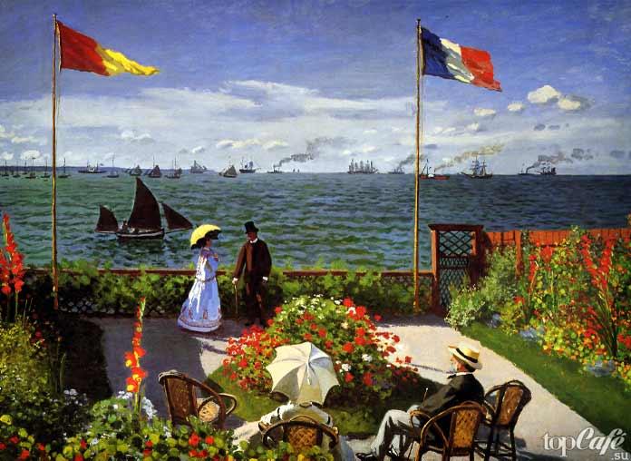 «Терраса в Сент-Адресс» (1867)