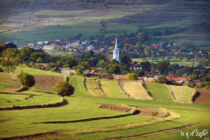 Трансильвания - одно из прекрасных мест Румынии