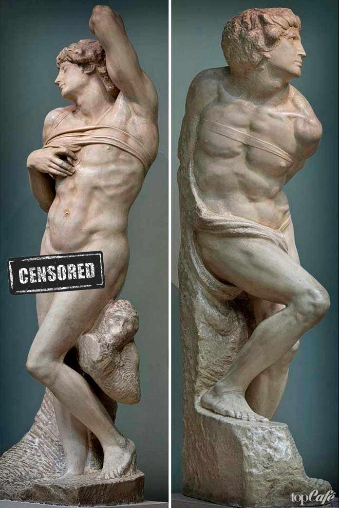 «Умирающий раб» и «Скованный раб» (1516)
