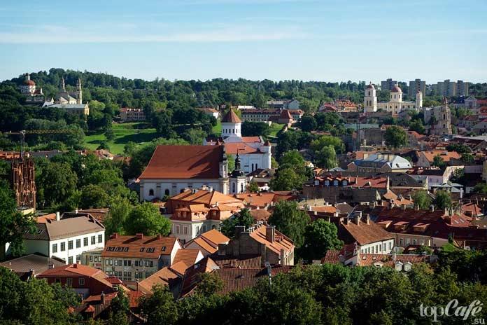 Вильнюс. Одно из самых прекрасных мест Литвы для посещения туристами