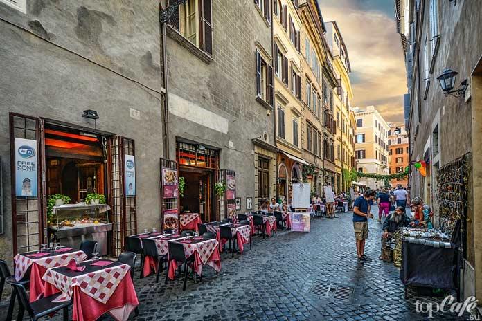 Вино, еда и любовь в Риме