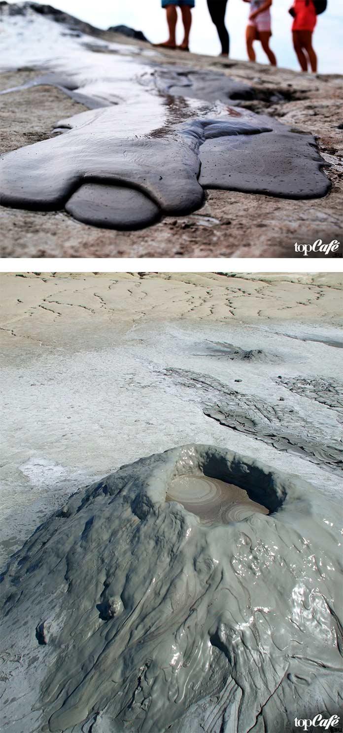 Грязевые вулканы