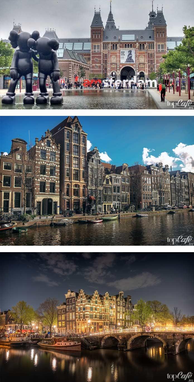 Красивые фото Амстердама