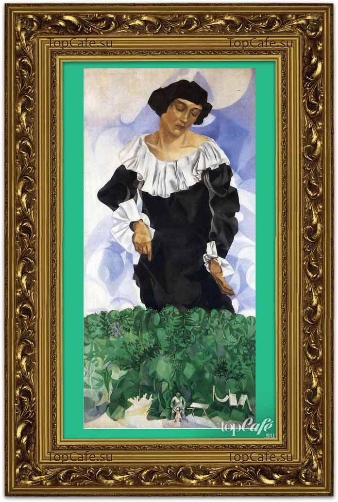 Белла с белым воротником (1917)