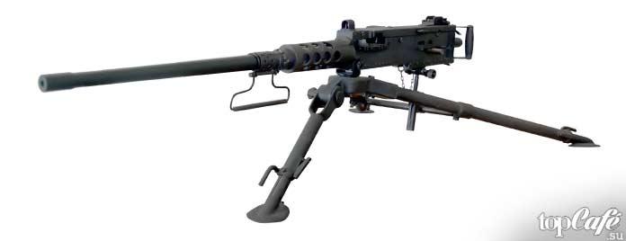 10 примеров самого дорогого стрелкового оружия: Браунинг М2