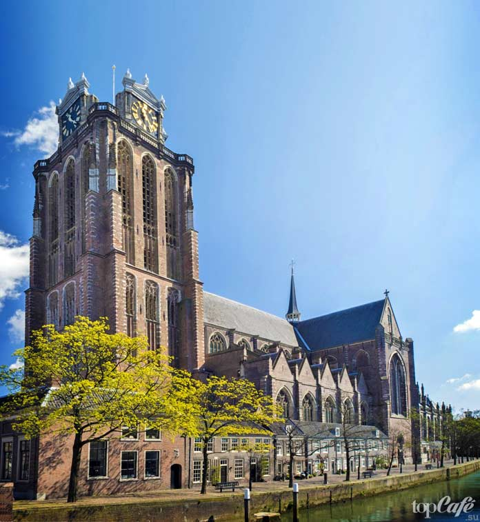 Список главных достопримечательностей Нидерландов: dordrecht grote kerk