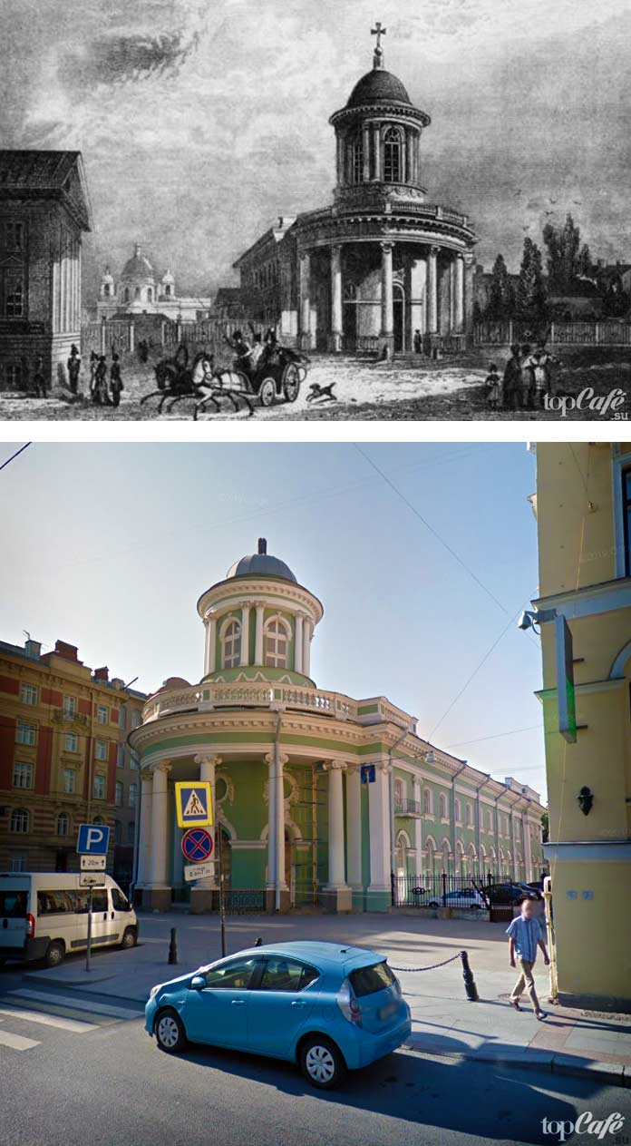 Церкви России, которые были перепрофилированы: Лютеранская церковь Святой Анны