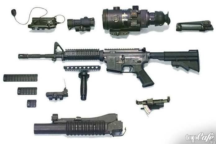 10 видов самого дорогого стрелкового оружия: M4
