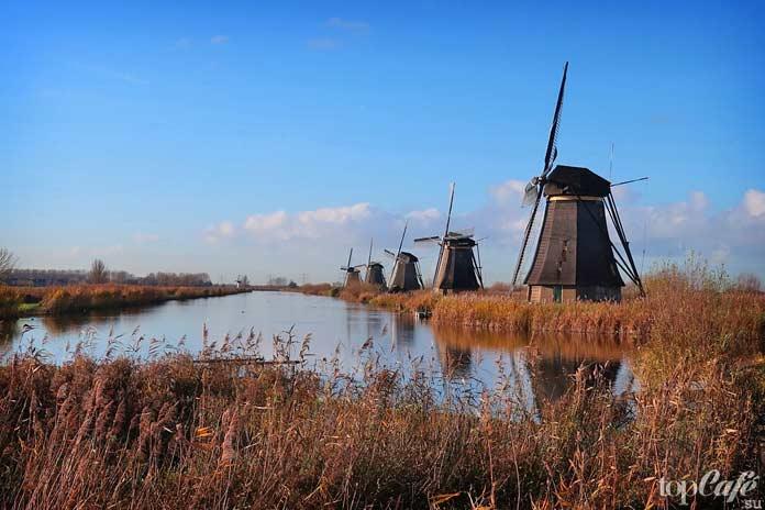 Ветряные мельницы в Амстердаме