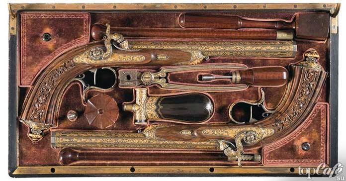 Пистолеты Николя-Ноэля Бутета