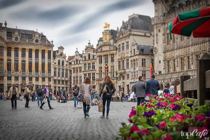 Площадь Брюсселя - одна из самых красивых европейских площадей