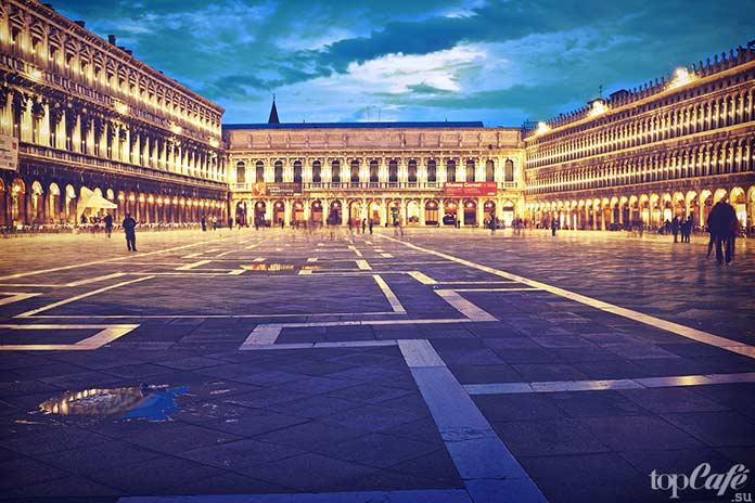 Площадь Сан Марко - одна из самых красивейших в Европе