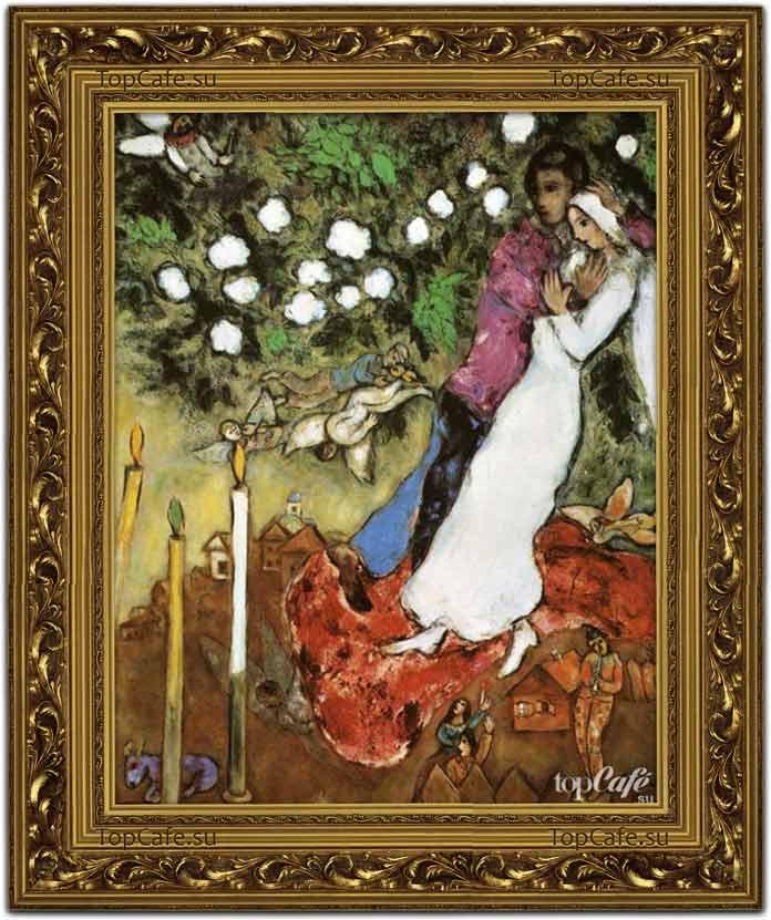 Самые известные картины Шагала: Три свечи (1940)