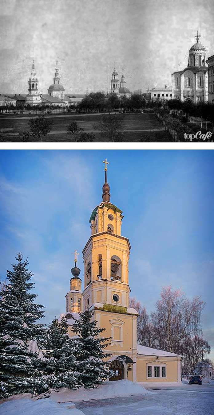 Церкви России, которые были перепрофилированы: Владимирский планетарий