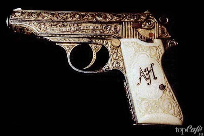 Золотой пистолет Фюрера: один из примеров самого дорогого стрелкового оружия