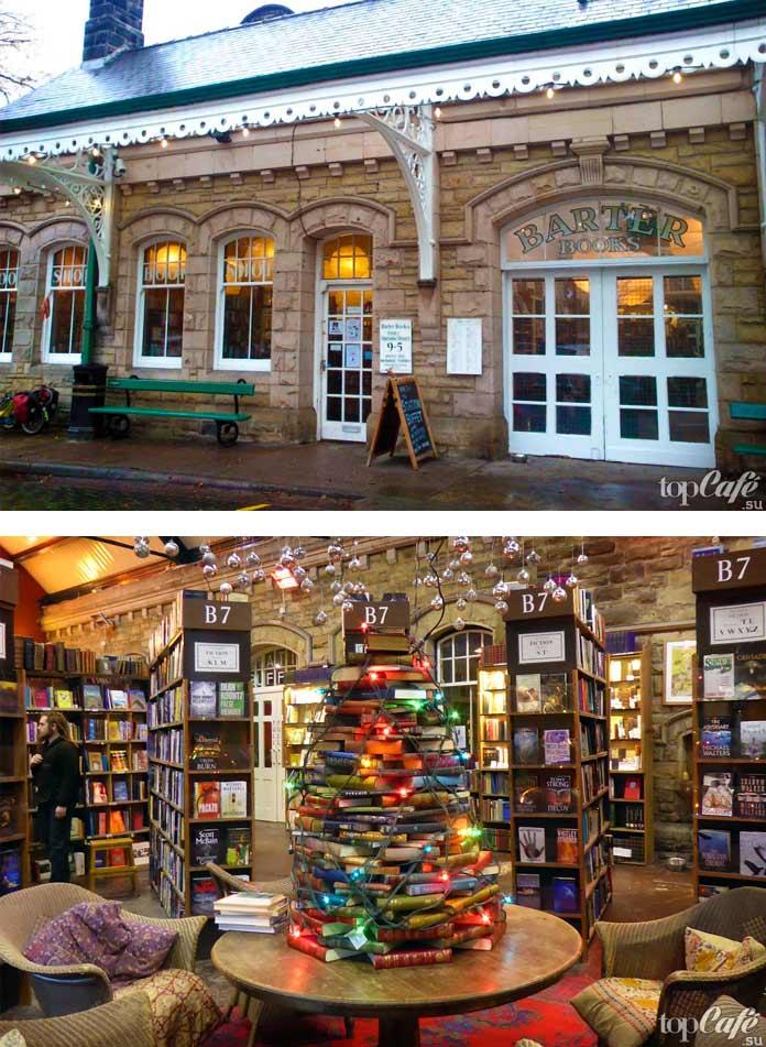 Самые известные книжные магазины: Barter Books. СС0