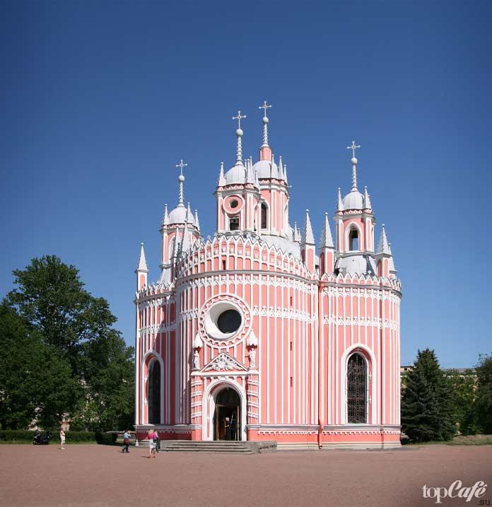 Чесменская церковь - одна из самых красивых русских церквей