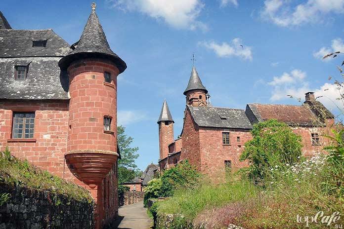20 самых красивых деревень во Франции: Collonges La Rouge. CC0