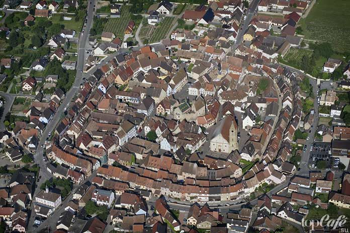 20 самых красивых деревень во Франции: Эгисхайм. CC0