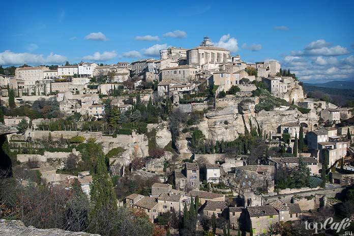 20 самых красивых деревень во Франции: Gordes. CC0