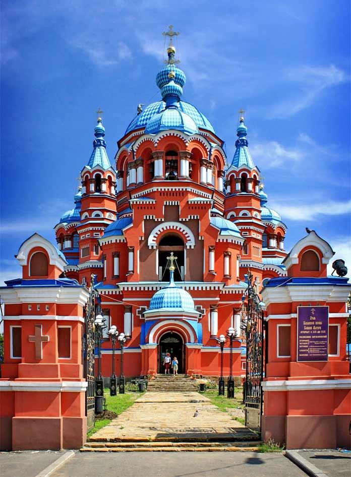 Казанская церковь. Иркутск