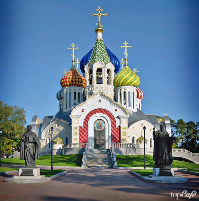 Церковь Святого Игоря Черниговского. Москва - одна из самых красивых русских церквей