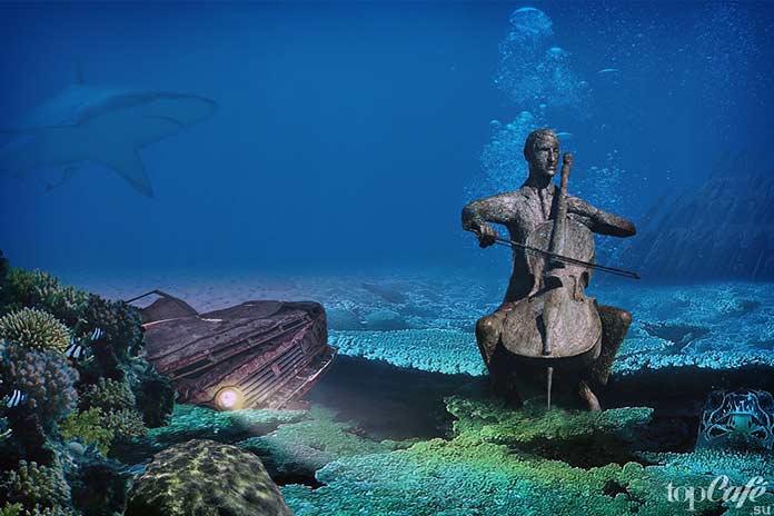 подводный океан. CC0