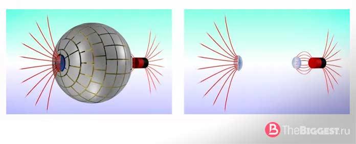 Червоточины для магнитных полей