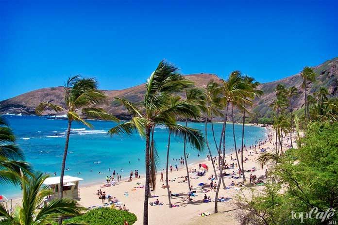15 интересных фактов о Гавайях: Гавайский пляж. СС0