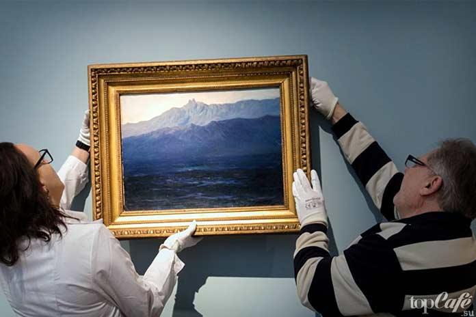 Кражи известных картин: Кража работы Куинджи
