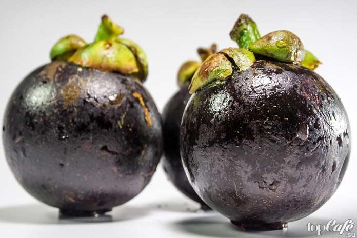 Список самых необычных фруктов: Мангостан CC0