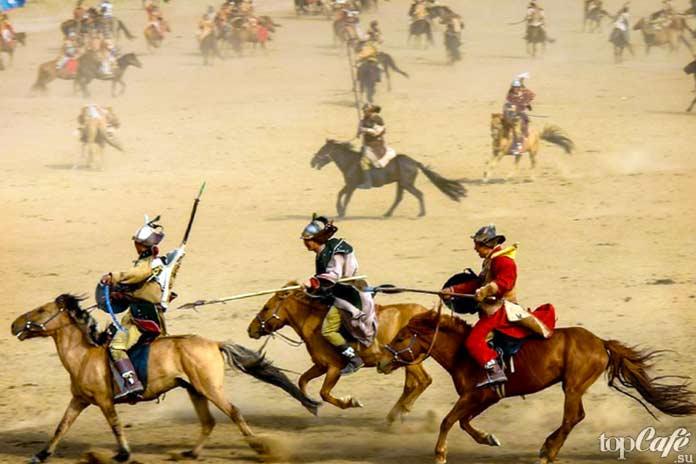 Причины господства Монгольской империи: Монгольские лошади. СС0
