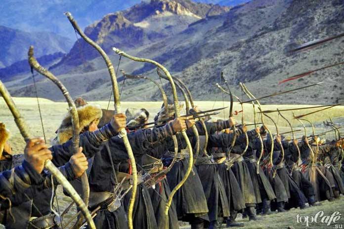 Причины господства Монгольской империи: Монгольские лучники