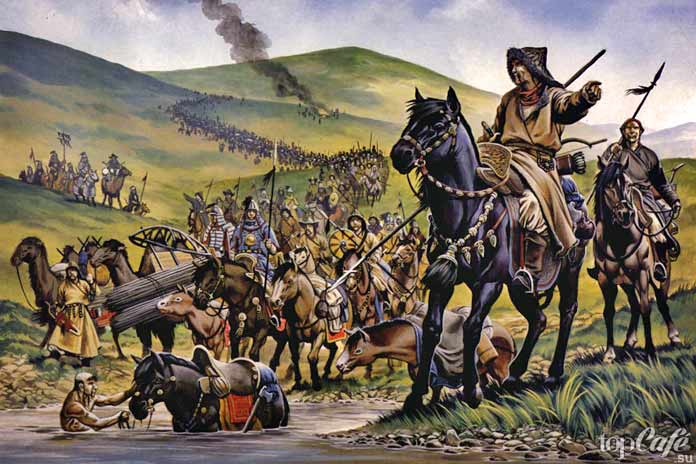 Причины господства Монгольской империи: Монгольское войско