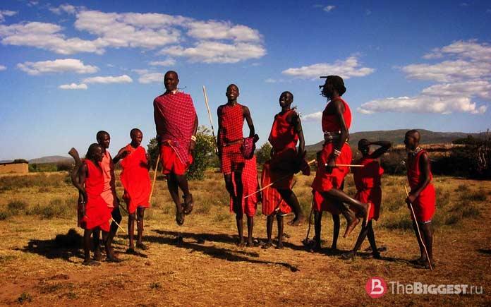 Самые странные обряды народов мира: Племя