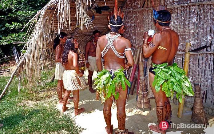 Похоронный обряд индейцев
