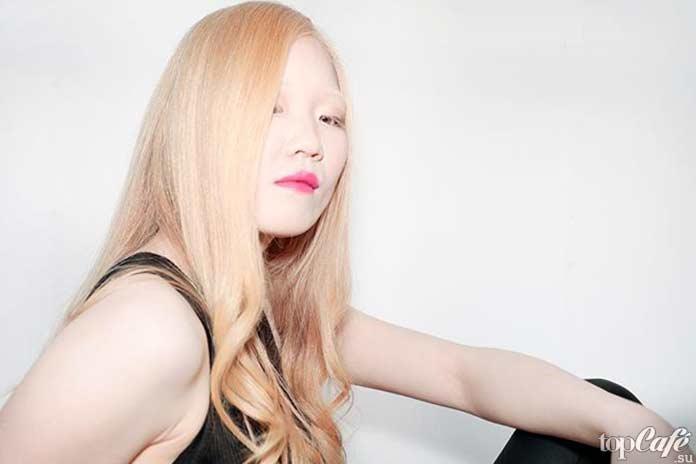 Люди альбиносы: Tihiro