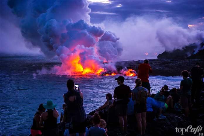 Вулканы на Гавайях. СС0