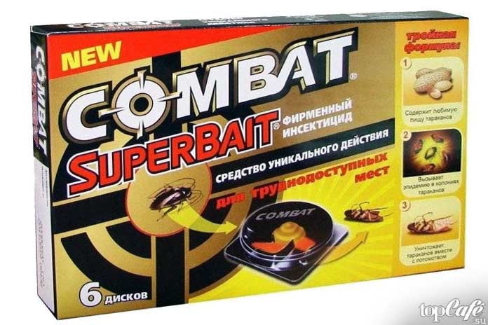 Как избавиться от тараканов: Combat