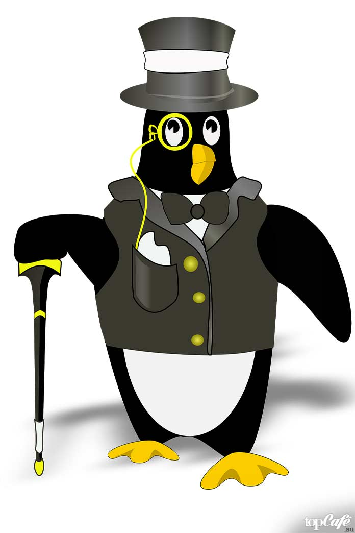 факты о пингвинах: В мультипликации. CC0
