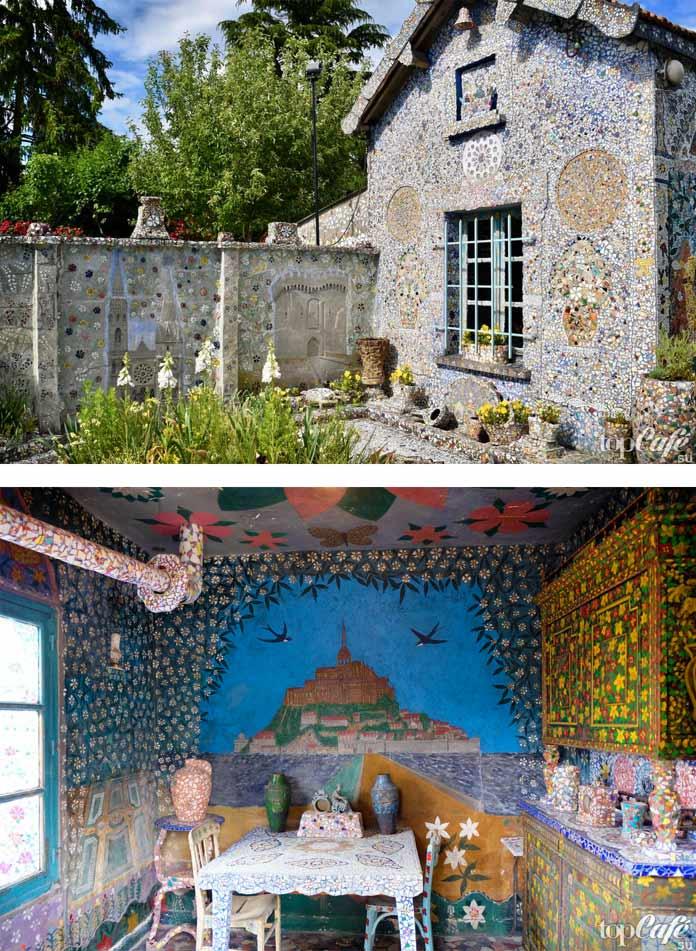 Мозаичные работы La Maison Picassiette-Шартр. CC0